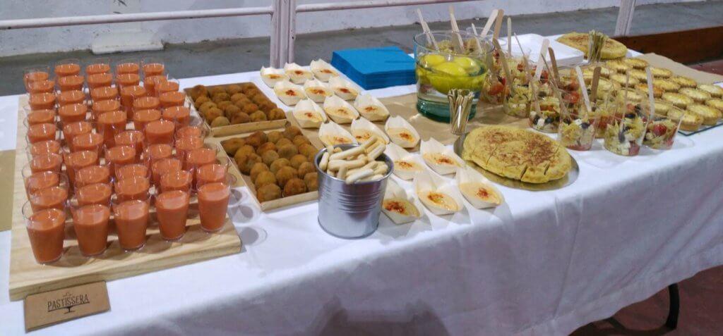 Este verano, catering La Pastissera